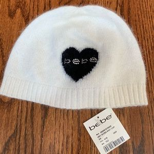 NWT BEBE cashmere hat!